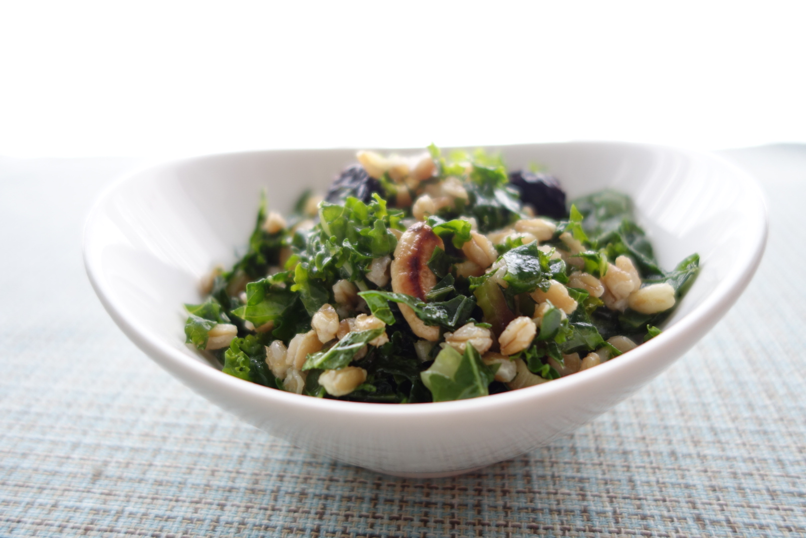 Kale Salad With Cherries And Pecans Recipes — Dishmaps